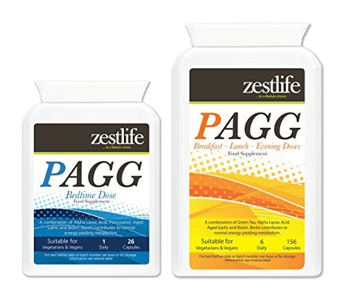 Price comparison product image PAGG Stack TWO MONTHS SUPPLY - Tim Ferris NEW IMPROVED FORMULA. Zestlife's PAGG is the UKs highest grade formula available