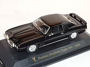 Pontiac Firebird Trans Am 1969 Coupe Schwarz Oldtimer 1/43 Yatming Modellauto Modell Auto