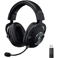 Logitech G PRO Gaming-Headset, Over-Ear Kopfhörer mit PRO-G 50-mm-Lautsprechern, Aluminium, Stahl und Memory Foam…