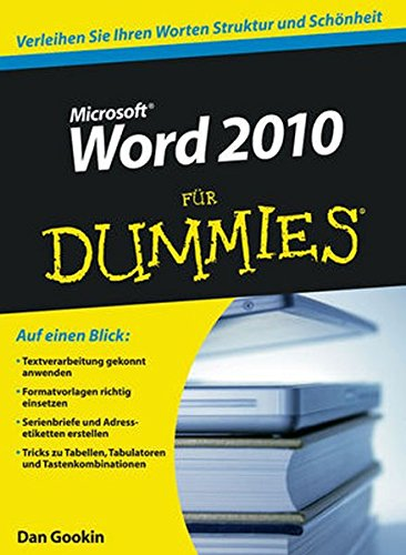 Word 2010 für Dummies (Microsoft Buch Word 2010)