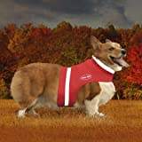 Corky 's Halsbänder see-me Hälfte Hund Weste, mittel, innovatives rot