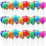 P&S events 100er XL Pack große Luftballons 30 cm Premium Markenqualität Helium Ballongas geeignet 100% Naturlatex (Mehrfarbig)