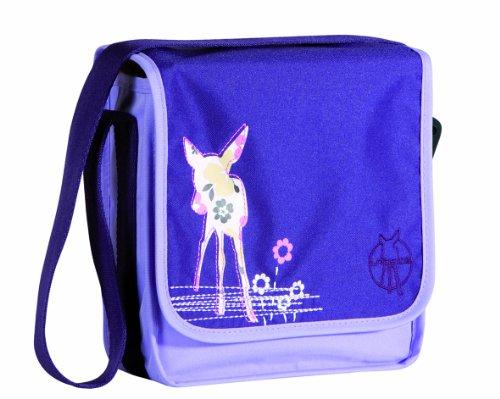 Lässig Mini Messenger Bag Kindergartentasche, Starlight oliv Deer Viola