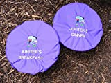 waterproof feed bucket covers for horses with personalised embroidery