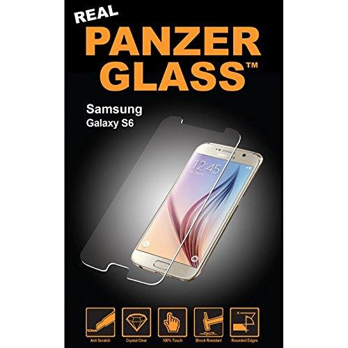Image of PanzerGlass Displayschutzglas (Anti-Fingerprint); passend für Samsung Galaxy S6, Klar