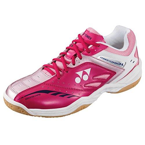YONEX SHB 34lx Power Kissen Damen Badminton Court Squash Schuhe 2016 Rosa - rose