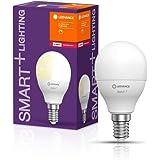 LEDVANCE Lampa LED | Trzonek: E14 | Ciepły biały | 2700 K | 5 W | SMART+ Mini bulb Dimmable [Klasa efektywności energetycznej