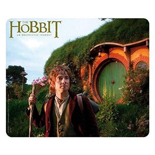 Preisvergleich Produktbild Der Hobbit - Mausmatte Mousepad - Bilbo Beutlin - 23 x 19 cm