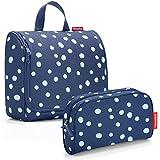 Reisenthel Exklusiv-Set: toiletbag XL 28x25x10cm große Kulturtasche zum aufhängen aufklappbar +...