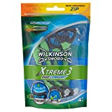 Wilkinson - Xtreme 3 Duo Comfort- Rasoirs jetables masculins - Pack de 4