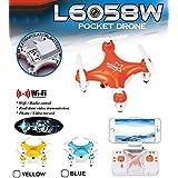 WayIn® L6058W mini bolsillo aviones no tripulados con la cámara, de 4 canales 6 Axis Gyro RC Micro Quadcopter Apoyo a la Wifi Controlado por el teléfono móvil