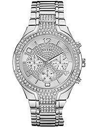 Guess Damen-Armbanduhr Chronograph Quarz Edelstahl W0628L1