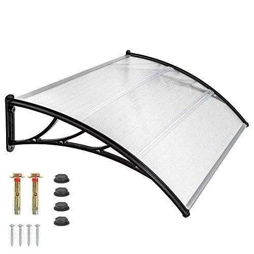 pensilina-tettoia-policarbonato-copertura-trasparente-modulabile-da-esterno-porta-finestra-100x60cm