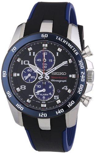 Seiko Reloj de Pulsera para Hombre XL Sportura Cronógrafo Cuarzo plástico...