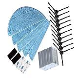 NTNT per Chuwi iLife iLife V5S V3 V3 + V5 V5 Pro X5 iLife v5pro Aspirapolvere di parti 5 Mop Spazzola laterale HEPA Filtro panno velcro