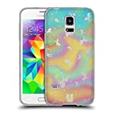Head Case Designs Einhörner Charmante Färberwaide Soft Gel Hülle für Samsung Galaxy S5 Mini