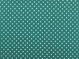 Jersey-Stoff Kleine Sterne, Meterware Türkis
