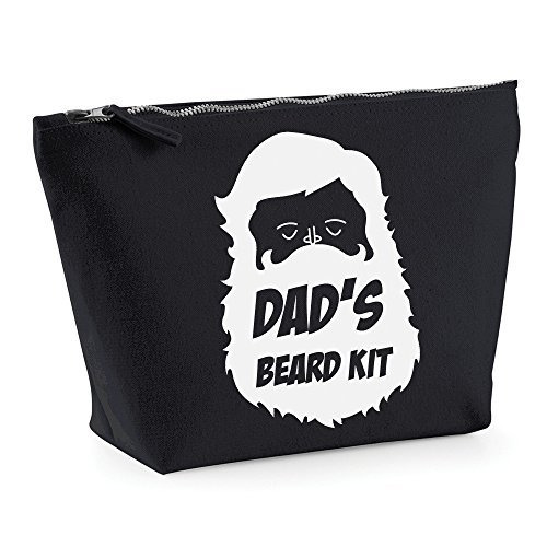 Dads Beard Kit WASH BAG Travel Toiletry Case New Dad Birthday Present Valentines Day Gift NEW