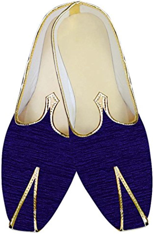 INMONARCH Hombres Zapatos de Bodas de Regencia Elegante MJ014131