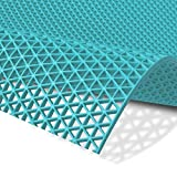 Hygienematte Z-Mat | viele Größen | stark rutschhemmend | für Nassbereiche und Arbeitsplätze | Türkis - 120x200 cm