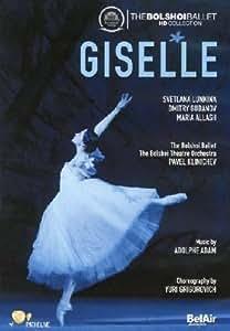 Adam: Giselle (Bolshoi Ballet Company) [DVD] [2012] [NTSC]