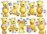 DECOFUN 40501B - Mein Teddybär, Wandsticker