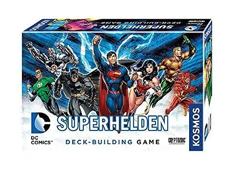Kosmos Spiele 692582 - DC Superhelden, Deck-Building Game (Superhelden Spiele)