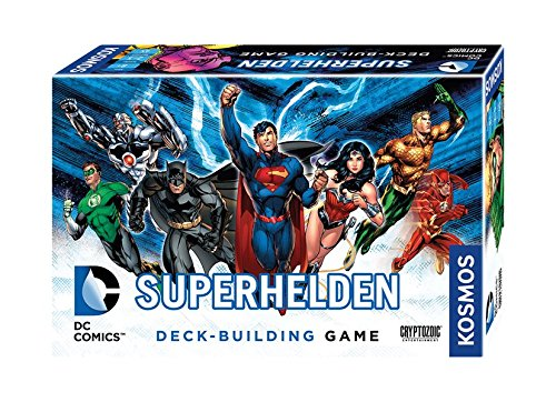 Kosmos Spiele 692582 - DC Superhelden, Deck-Building ()