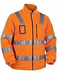Blakläder 485325605300XXL High Vis Veste polaire class 3 Taille XXL Orange