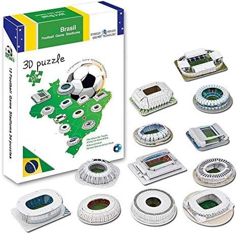 Modèle 3D 3D 3D de Stade de Sport, modèle de Stade de la Coupe du Monde de la Coupe du Monde de Football du Brésil, modèle Complet de Ventilateurs, Puzzle | Techniques Modernes  507f4e