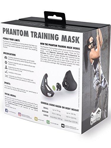 Phantom Athletics Erwachsene Training Mask Trainingsmaske - 4