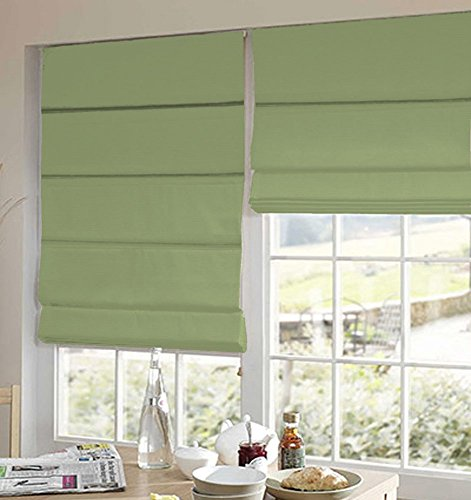 PRESTO BAZAAR 1 Piece Polyester Solid Blind - Green