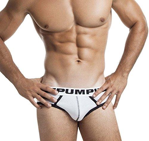 Pump! Slip DROP-KICK BRIEF 12037, weiß -