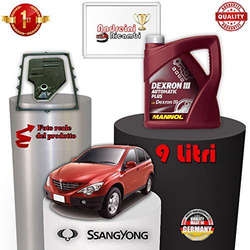 TAGLIANDO CAMBIO AUTOMATICO E OLIO TYON 200 Xdi 104KW 2012 -> /1091