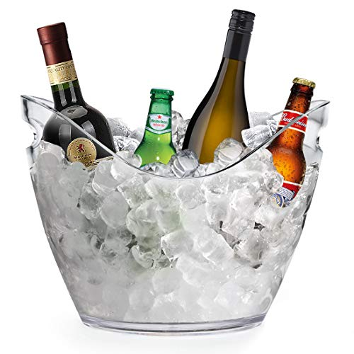 Yobansa 8L Seau à glace Seau à champagne Seau à vin,...