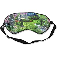 Flowers Paradise Spring Paintings Deer 99% Eyeshade Blinders Sleeping Eye Patch Eye Mask Blindfold For Travel... preisvergleich bei billige-tabletten.eu