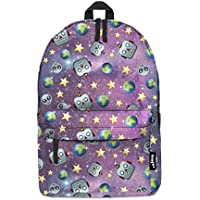 Fringoo® Girls Boys Kids Backpack School Bag Rucksack Daypack Travel Hand  Luggage Emoji Hologram Bag 8fa51047d1909