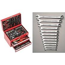 Mannesmann - M29066 - Caja de herramientas equipada con 155 piezas + M 130-12DIN