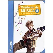 Cuaderno de Música-4 (Educación Primaria) - 9788426814647