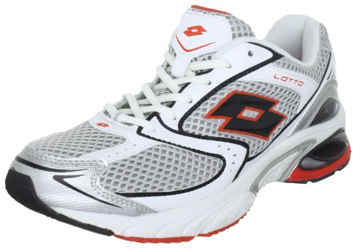 lotto-sport-rearch-gemini-n8322-herren-sportschuhe-running-silber-silvn-core-red-eu-405-us-8