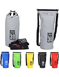 Relaxdays Ocean Pack 30 L, wasserabweisender Trockensack für Wertsachen, leichter Dry Bag für Outdoor, versch. Farben