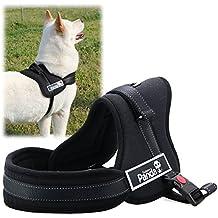 XCSOURCE® Chaleco Correa Nylon Arnés Control Acolchado Ajustable Seguridad para Perro Gato Grande Color Negro S PS016