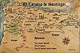 1art1 118707 Jakobsweg - EL Camino De Santiago Anno 1445,