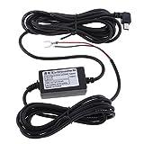 MagiDeal Dash Kamera Hard Wire Kit Mini USB Port (Links Winkel) Dash Cam Hardwire und Sicherung Kit für Dash Kamera Netzteil