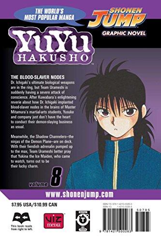 Yu Yu Hakusho 8 (Yuyu Hakusho (Graphic Novels))
