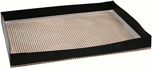 Culinario Bandeja para barbacoa y horno–Antiadherente, resistente hasta 260°C, 29x 34cm, puede utilizarse como sustituto del papel de horno
