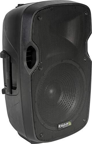 Ibiza XTK12A - Bafles de sonido con ABS activo, 12