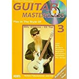 Guitar Masterclass, m. CD-Audio, Bd.3, Play In The Style Of Billy Gibbons - ZZ Top, m. CD-Audio