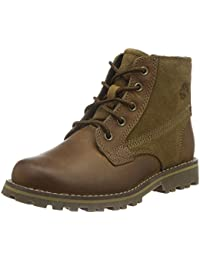 Timberland Asphalt Trail FTK_Chestnut Ridge 6In PT with Side Zip - botas de cuero niños