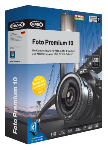 MAGIX Foto Premium 10 Jubiläums-Edition – Minibox